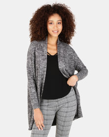 Paige Smith Cardigan With Pockets Black