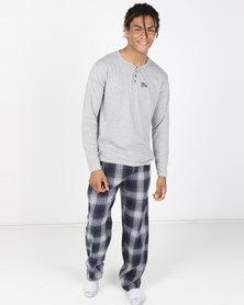 Tokyo Laundry Stelvio Sleepwear Light Grey Marl