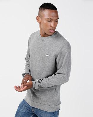 340412735c49 Le Shark Long Sleeve Lockmead Sweatshirt Grey Marl