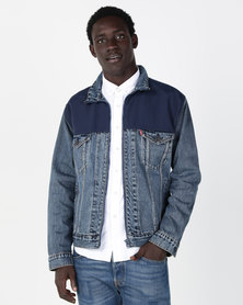Levi's ® Unbasic Trucker Jacket Blue