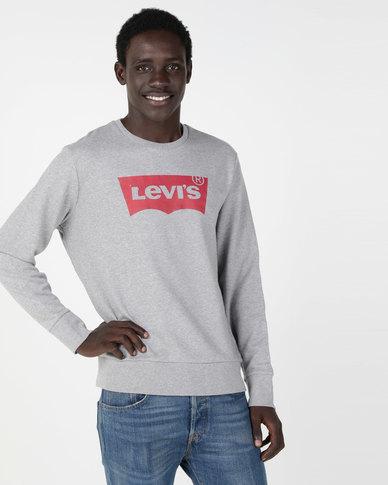 Levi's ® Graphic Crew Sweatshirt Grey