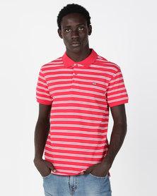 Levi's® Housemark Polo Shirt Red
