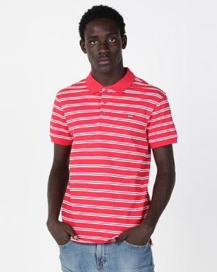 Levi's® Housemark Polo Shirt Red