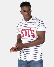 Levi's® Classic Colorblock Tee White