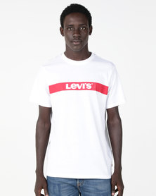 Levi's® Relaxed Graphic Tee White