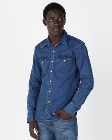 Levi's® Barstow Western Shirt Blue