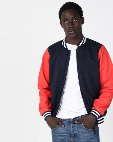 half price novel style huge selection of Levi's® Baker Bomber Jacket Blue