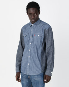 Levi's® Classic Western Shirt Blue