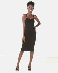 Brett Robson Milla Bodycon Dress Black