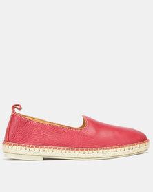 Tsonga Leather  Indzima Slip On Shoes Valentino Vintage
