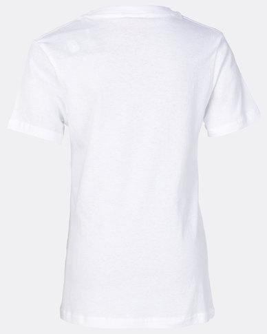 ECKÓ Unltd Boys Basic Short Sleeve Tee White