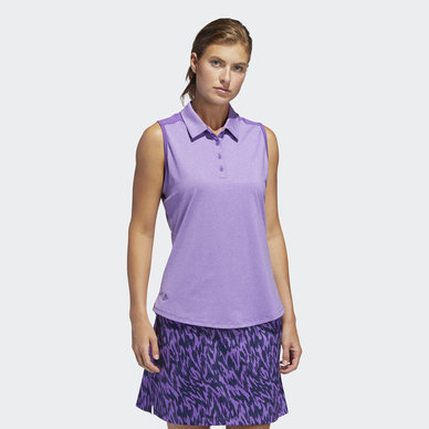 ULTIMATE365 SLEEVELESS POLO SHIRT