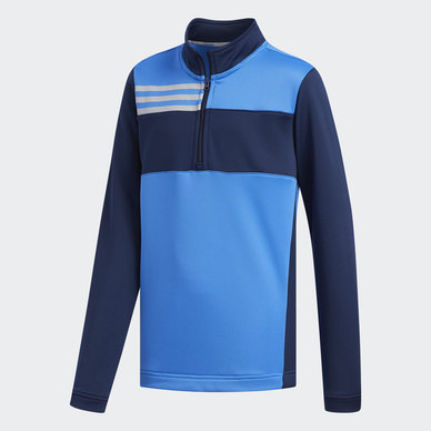 COLOR BLOCKED HALF ZIP LAYER