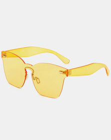 Naked Eyewear Remy Sunglasses Yellow