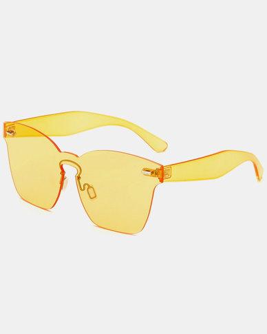 Naked Eyewear Remy Sunglasses Yellow