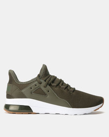 Puma Sportstyle Core Electron Street Sneakers Forest Night-Forest Night-Puma White