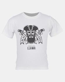 Phoenix & the Llama Captain Blackbeard T Shirt Slim Fit