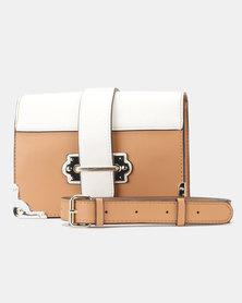 Steve Madden Bisabel Crossbody Bag Camel Multi