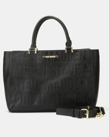Steve Madden Bremi Satchel Bag Black