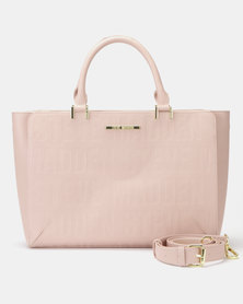 Steve Madden Bremi Satchel Bag Blush