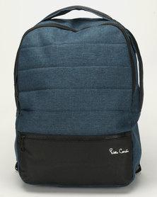 Pierre Cardin Nova Computer Backpack Blue/Black