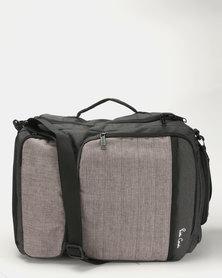 Pierre Cardin Dual Functioning Bag Grey/Black