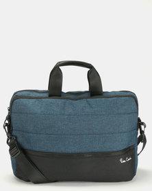 Pierre Cardin Nova Computer Slingbag Blue/Black