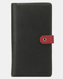 Pierre Cardin Travel Wallet Black