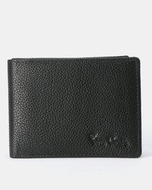 Pierre Cardin Dennis Billfold With Coin Pouch Black
