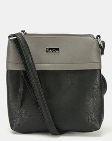 Pierre Cardin Serena Crossbody Bag Black/Charcoal