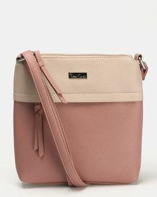 Pierre Cardin Serena Crossbody Bag Dusty Purple/Taupe