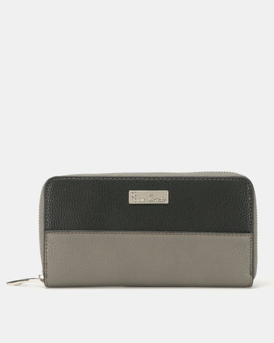 Pierre Cardin Serena Purse Black/Charcoal