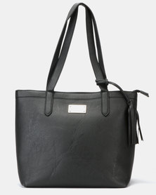 Pierre Cardin Spencer Tote Bag Black