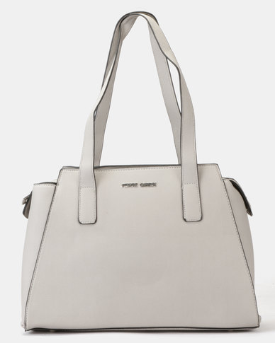 Pierre Cardin Hanna Top Handle Bag Grey