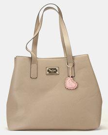 Pierre Cardin Mona Shopper Bag Taupe
