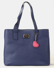 Pierre Cardin Mona Shopper Bag Navy