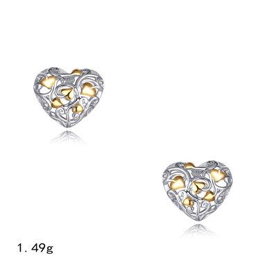 Sterling Silver Tree of Love Earrings
