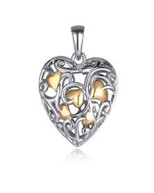 Dhia Jewellery Sterling Silver Tree of Love Pendant