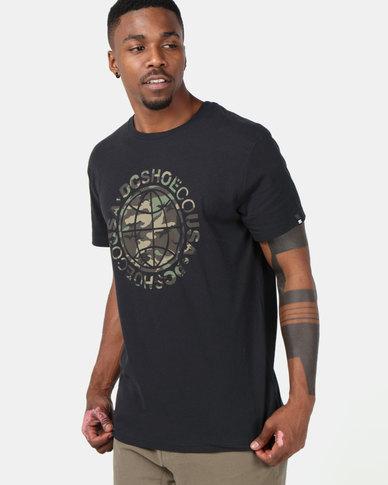 DC Cardinal T-Shirt Black