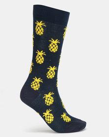 Sexy Socks Pina Colada Bamboo Socks Multi