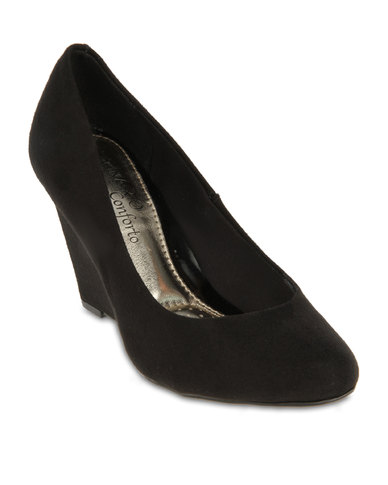 6364d7281a75c Beira Rio Wedge Pumps Black