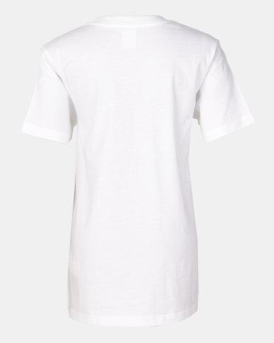 DC Boys Prism T-Shirt White