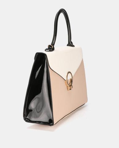 Queenspark Padlock Bag Black
