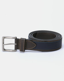 JCrew Belt Choc/Navy