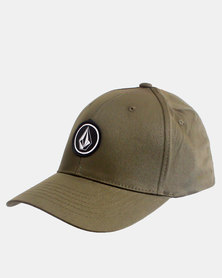 Volcom Quarter Stretch Fit Cap Military