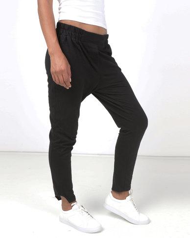 Lila Rose Knit Pants Black