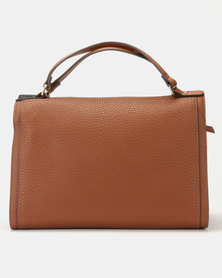 Fiorelli Wimbledon Soft Barrel Grab Bag Chestnut