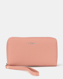 Fiorelli Finley Medium Zip Around Purse Pink