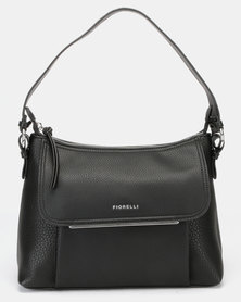 Fiorelli Ella Zip Top Crossbody Bag Black