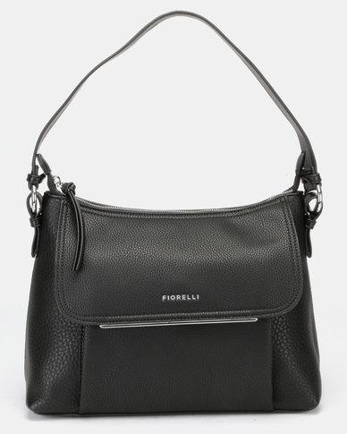 Fiorelli Ella Zip Top Crossbody Bag Black